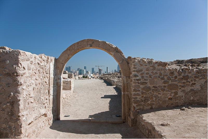I04 Bahrain, Ausgrabungsstätte Saar