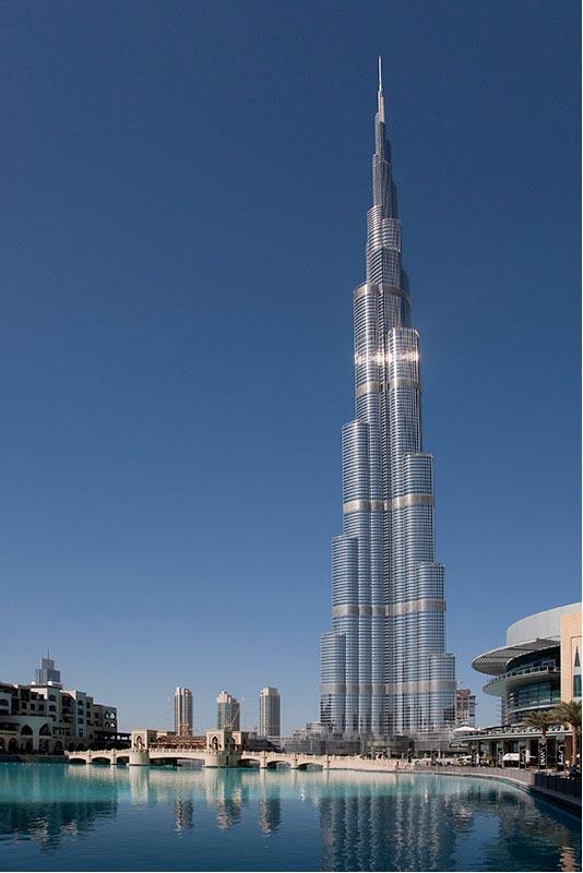 I08 Dubai, Burj Khalifa