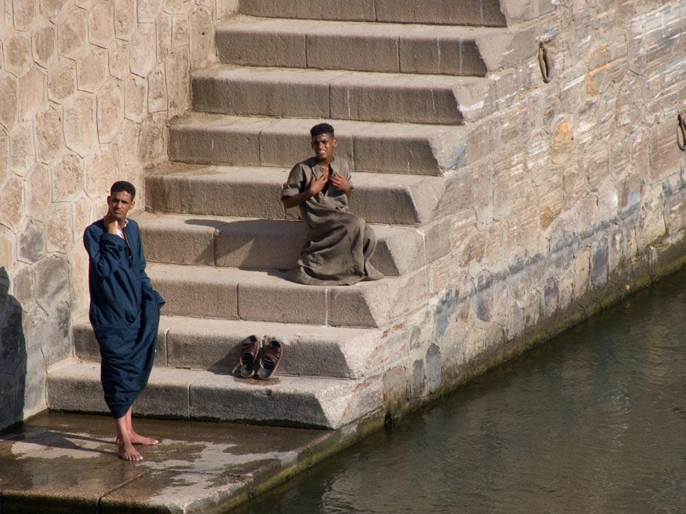 I23 Menschen am Nil / River Nile people
