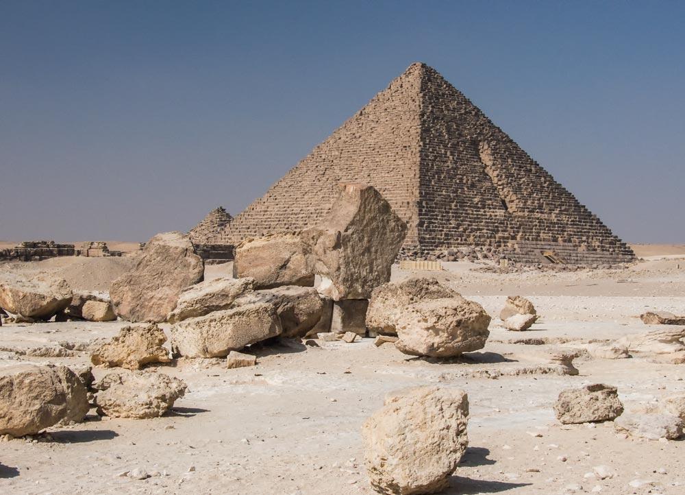I26 Pyramiden von Gizeh / pyramids of Giza