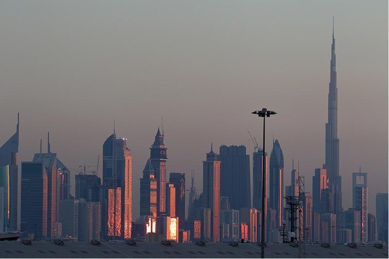 I28 Dubai, Skyline