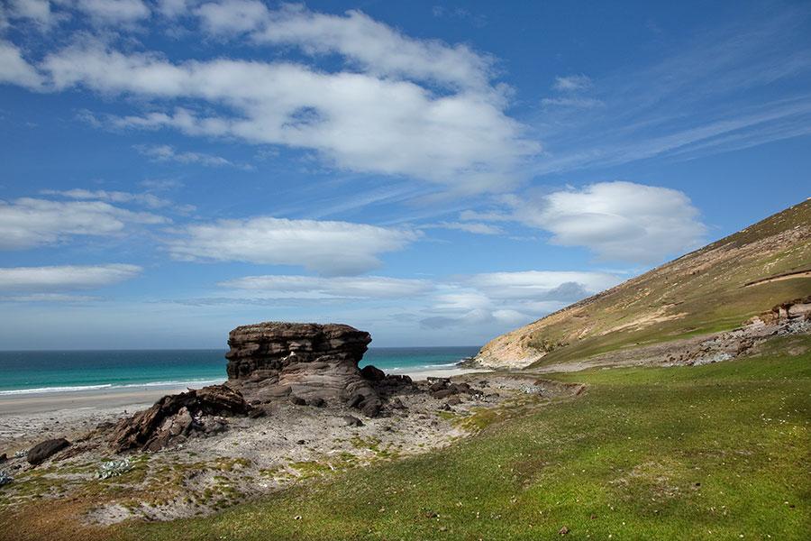 A25 Falklands, Saunders Island