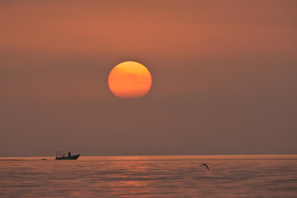 FL098 Sonnenaufgang / sunrise