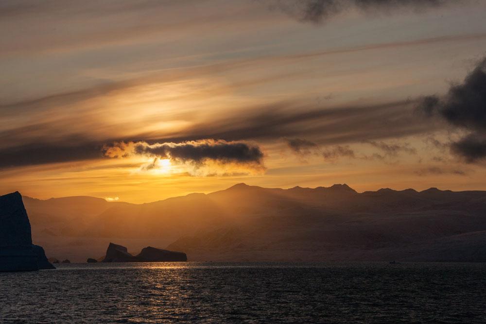 GR53 Sonnenuntergang / sunset